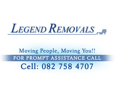 Legend Furniture Removals - Legend Furniture Removals is a family owned furniture removals company, specialising in household removals. We operate throughout South Africa. Contact us for a Free Quote.
